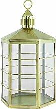 artelore Home Conil L Laterne, Edelstahl, Gold Dekoration, 40x 40x 81cm