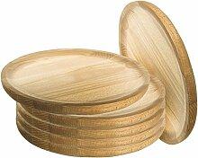 Artema - Holzteller Rund - Holzplatte - Kiefer -