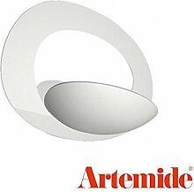 Artemide Pirce Micro LED Wandleuchte, weiß