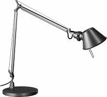 Artemide Tolomeo Midi Schreibtischleuchte LED Mit Dimmer Anthrazit Grau