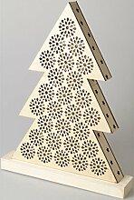 Artemio 14002482 LED-Bild aus Holz, Tanne, 29 x 4