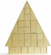 Artemio Adventskalender in Weihnachtsbaum-Form,