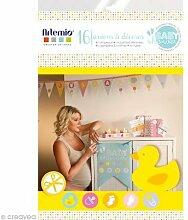 Artemio Baby Dusche Kit mit 16A3PENNANTS zum