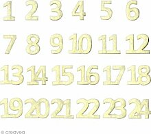 Artemio Zahlen von Adventskalender, Wollfilz,