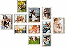 Artepoint 11er Set von Bilderrahmen 13x18 und