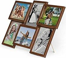 Artepoint Holz Fotogalerie für 6 Fotos 13x18 cm -
