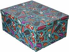 Arteregal Boxen-Set, Karton, Mehrfarbig, 37.0x