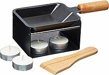 Artesà Mini-Raclette-Grill-Set, Metall, 5-teilig