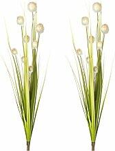 artfleur - 2er Set künstliches Onion Gras Busch