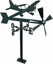 Arthifor Gartenlaterne mit Flugzeug-Silhouette,