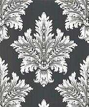 Arthouse 950902Sophie Conran Chartwell anthrazit Tapete 613001–Designer Damas