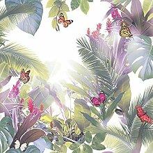 Arthouse Amazonia Schmetterling Muster Tapete Wald-blatt Motif Geprägt - Lavendel 690301