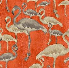 Arthouse, Arthouse Flamingo Beach Calypso Tapete, orange