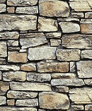 Arthouse Cornish Stone braun Tapete -