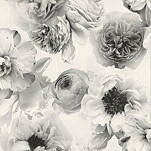Arthouse Diamond Bloom Floral Mono 257001 Tapete