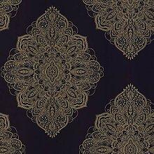 Arthouse Henna Navy/Gold 686000 Tapete