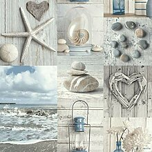 Arthouse Maritime Collage 699000 Tapete