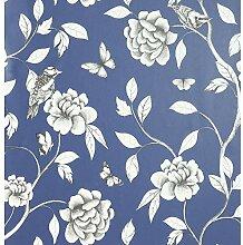 Arthouse Rose Garden Navy 907600 Tapete