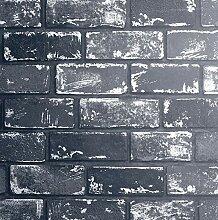 Arthouse Tapete, schwarz