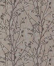 Arthouse Vintage Bosco anthrazit Tapete 291500–schwerem Vinyl Baum * *