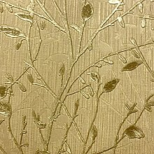 Arthouse Vintage Bosco Gold Tapete 291502–schwerem Vinyl Baum * *