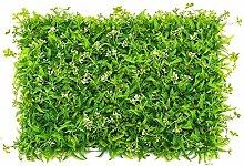 Artificial Flower Grüne Pflanzenwand gefälschte