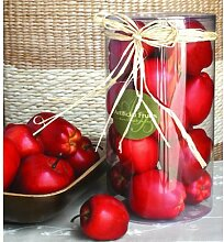 Artificial Red Apple In Box by FantasticDecor