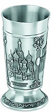 Artina 60521 Bierbecher 14 cm Moskau, Zinn