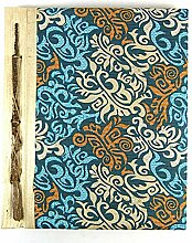 Artisanal Batik Fotoalbum, groß, 160 Fotos und