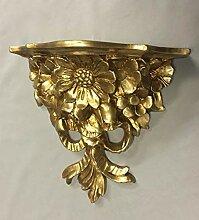 Wandkonsole Antik Ablage Regal Barockkonsole Gold Konsole Rokoko Hängekonsole Badzubehör & -textilien