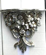 Artissimo Barock Konsole Wandkonsole Silber BAROCK