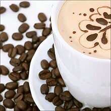 artissimo, Glasbild, 30x30cm, AG7999A, Coffee III,