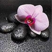 artissimo, Glasbild, 30x30cm, AG9138A, Zen pink,