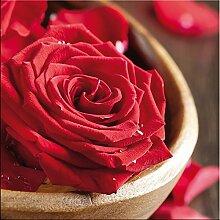 artissimo, Glasbild, 50x50cm, AG9142A, Red roses