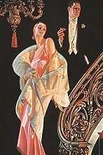 Artland Alte Meister selbstklebendes Poster J. C.