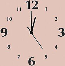 Artland analoge Wanduhr Quarz Uhrwerk auf Alu 30 x