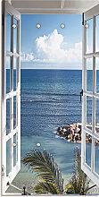 Artland Garderobe Fenster zum Paradies 60x2,8x120