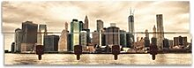 Artland Garderobenpaneel Lower Manhattan Skyline,