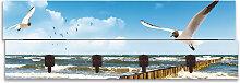 Artland Garderobenpaneel Ostsee, platzsparende