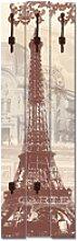 Artland Garderobenpaneel Paris Collage,