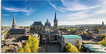 Artland Glasbild Aachen Panorama II, Deutschland,