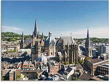 Artland Glasbild Aachen Panorama III, Deutschland,