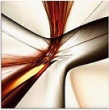 Artland Glasbild Abstrakt modern, Muster (1