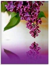 Artland Glasbild Flieder, Blumen (1 Stück)