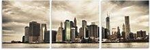 Artland Glasbild Lower Manhattan Skyline, (3