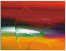 Artland Glasbild Modern IV, Gegenstandslos (1