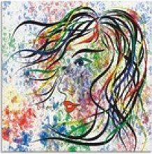 Artland Glasbild Modern Porträt, Frau (1 Stück)