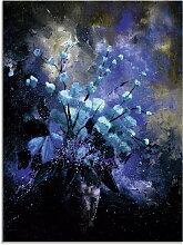 Artland Glasbild Stillleben Blumen II 60x80 cm,