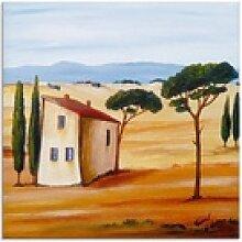 Artland Glasbild Toskana modern 2, Europa (1