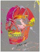 Artland Glasbild Totenkopf 2, Körper (1 Stück)